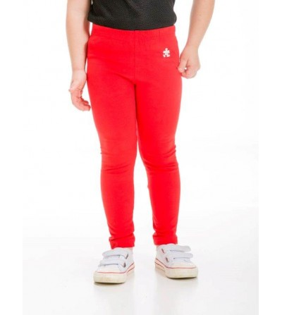 PANTALON LEGGINS LARGO ROJO...